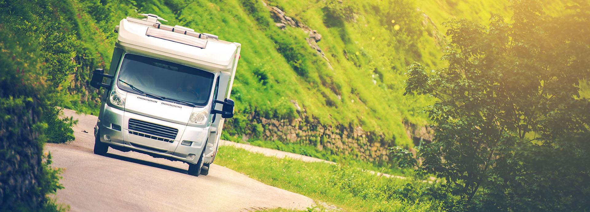 Movimentatore per roulotte e caravan